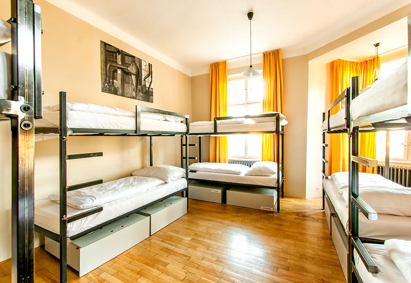 A dorm room which reduces hostel costs