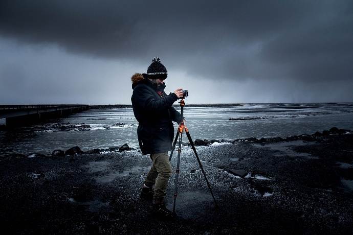 A freelance photographer - another job that involves travelling
