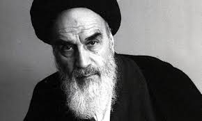 A picture of Ayatollah Khomeini