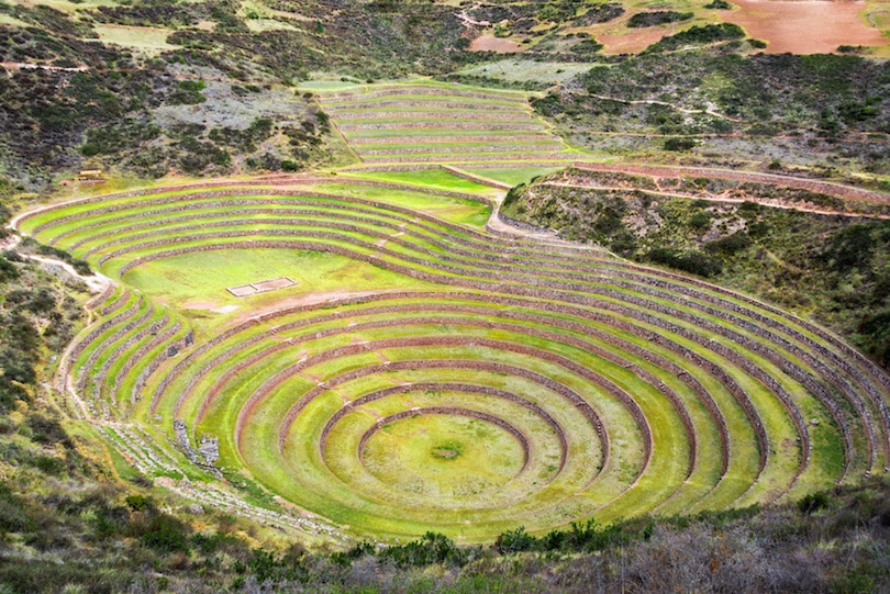 Moray - another of the best Inca ruins in Peru