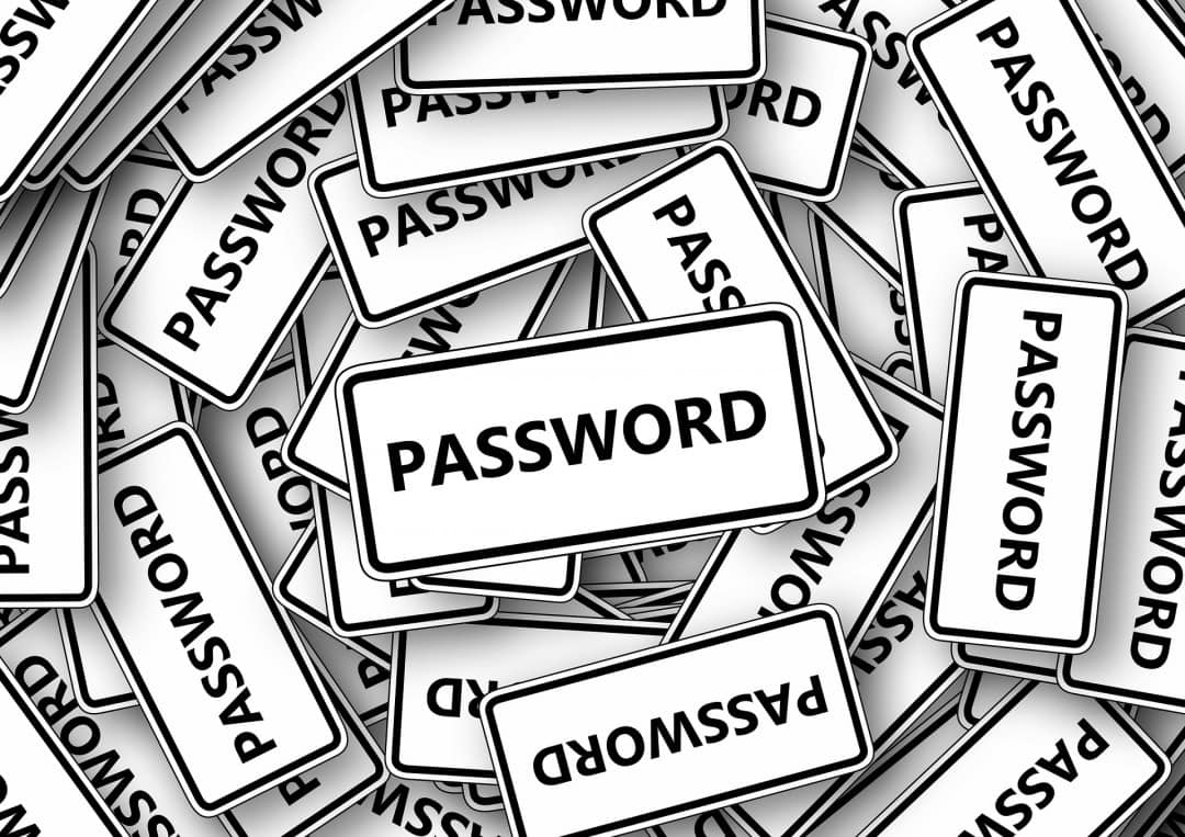 Passwords to avoid digital security issues