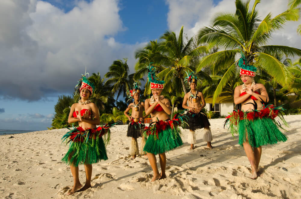Tahiti dance in action
