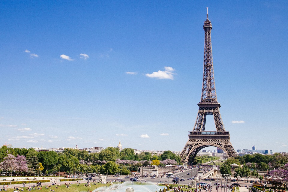 The Eiffel Tower - Most famous landmark in Paris