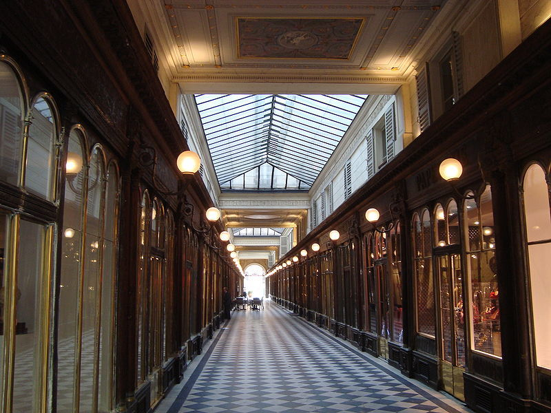 covered passages of paris