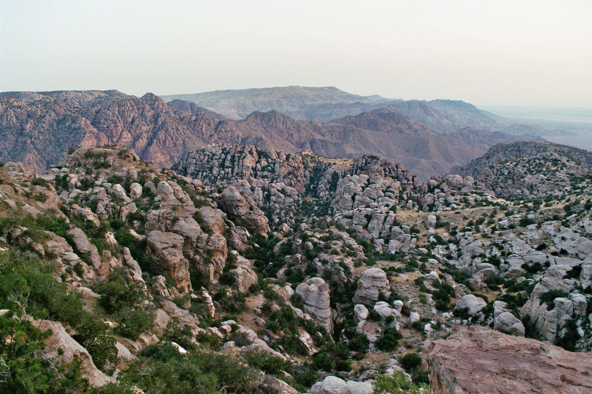 Geology in the dana biosphere nature reserve