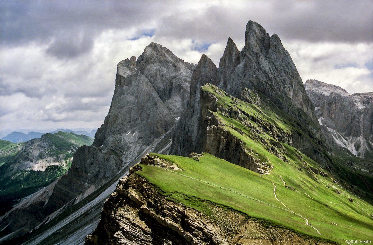 seceda and poz-odle dolomites italy