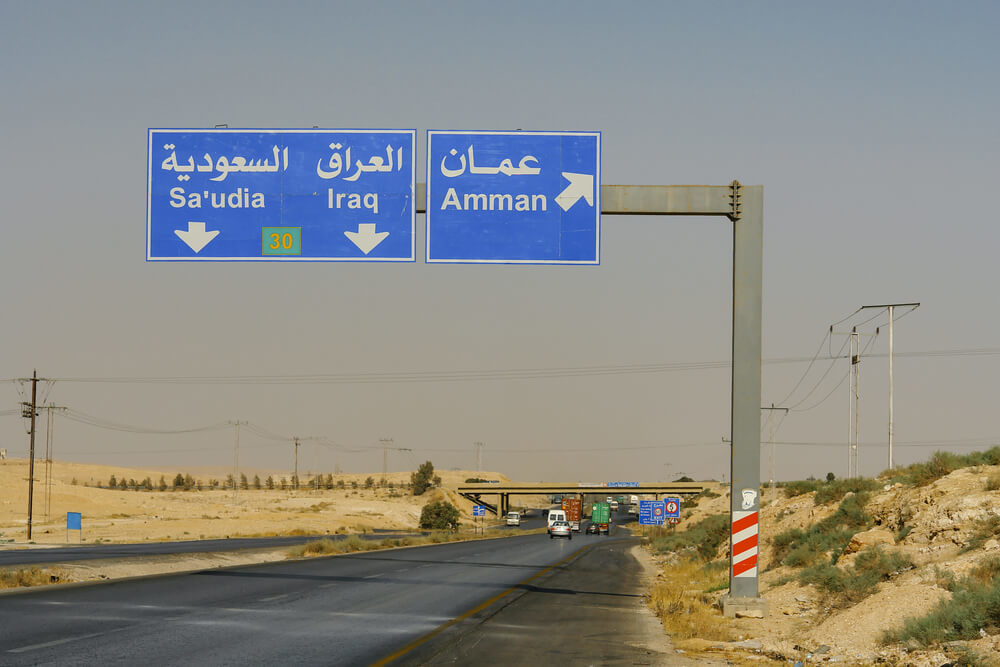 Traveling the road to the Iraq border in Joran