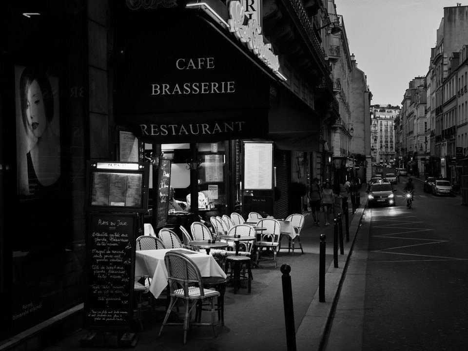 eating in paris