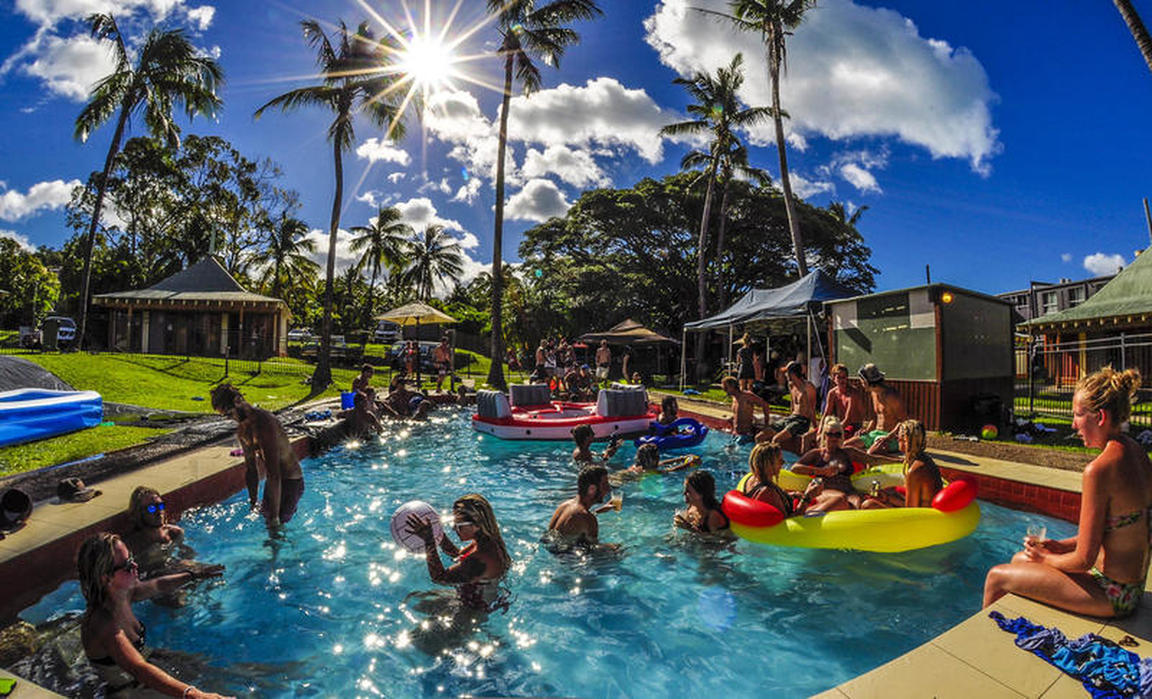 Nomads Airlie Beach best hostels in Airlie Beach