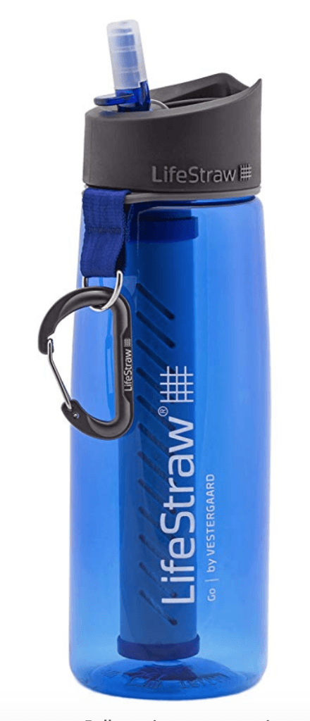 LifeStraw Go Water Bottle - Runner-Up for Best Overall Filtered Water Bottle