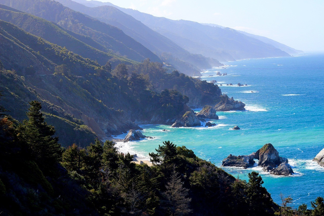 california coast road trip big sur
