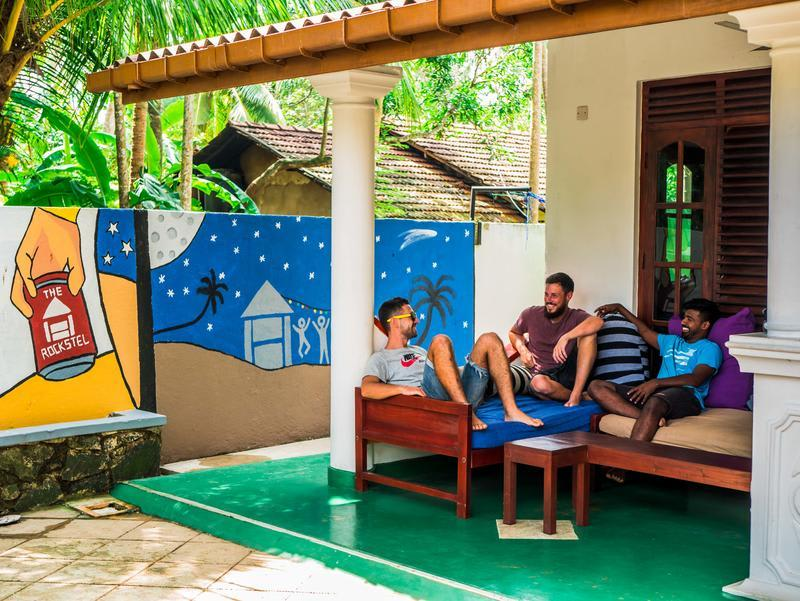 The Rockstel best hostels in Sri Lanka