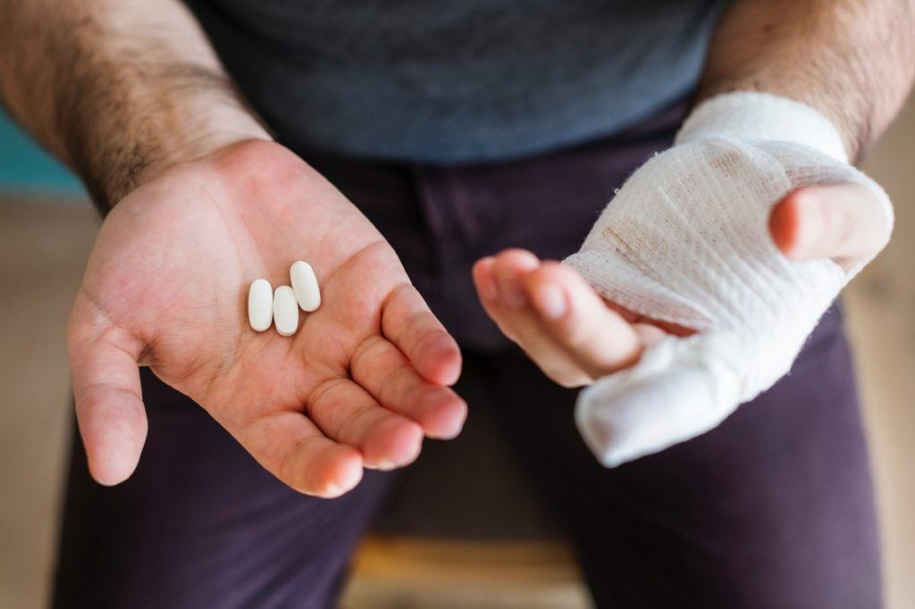 Painkillers and other medicines sould be in your camping first aid kit