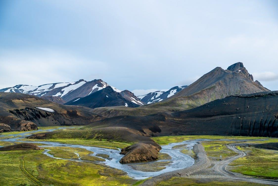 best hikes in iceland multicolored highlands