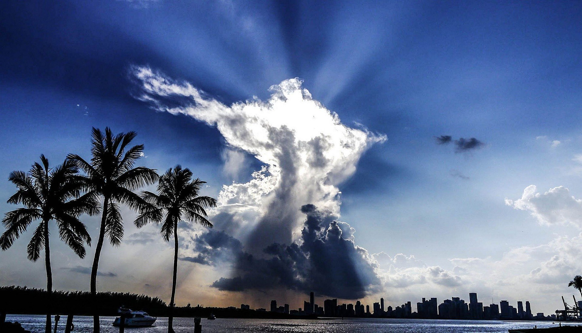 Clouds over Miami