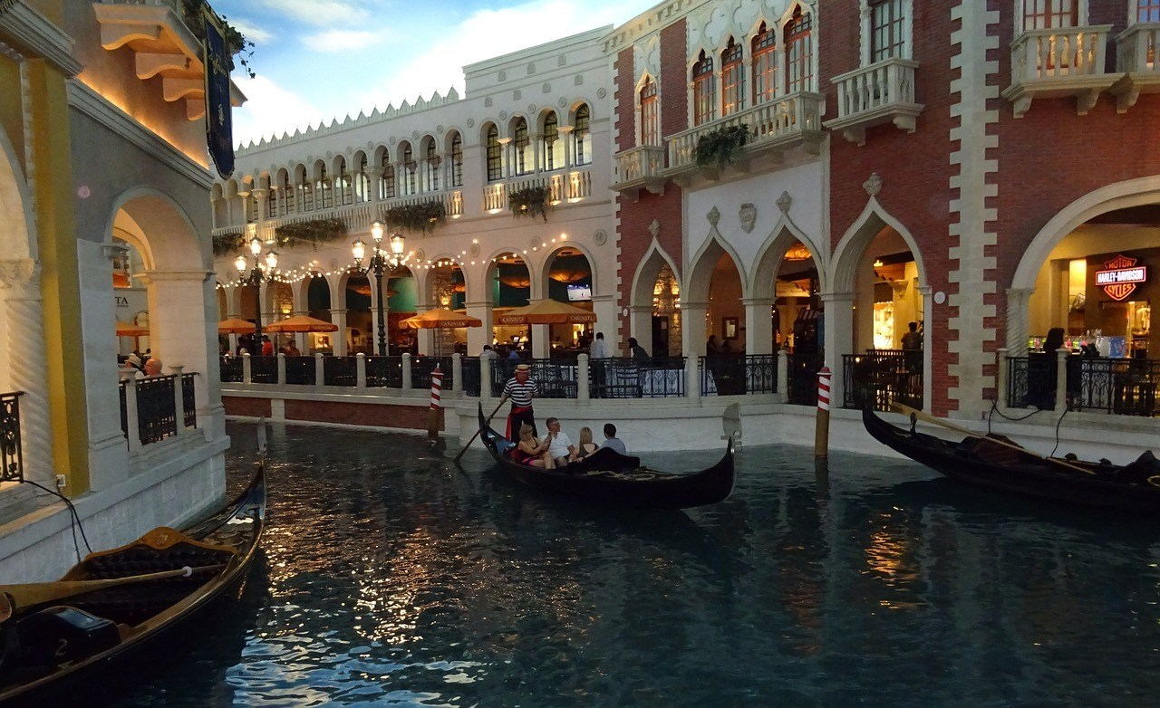 The Venetian Casino and Grand Canal