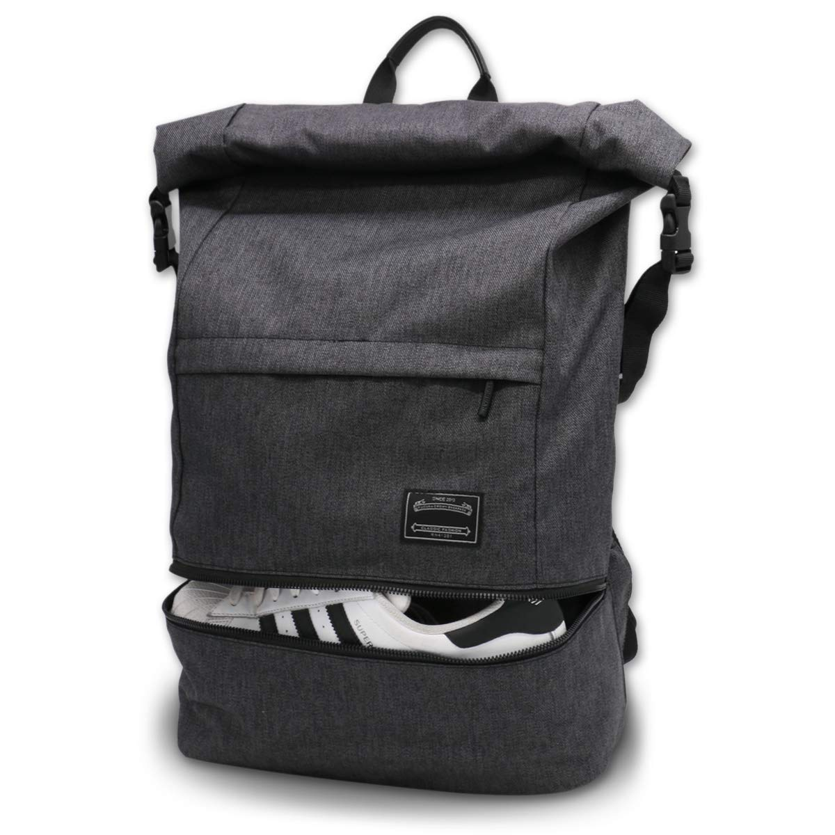 Itshiny Anti-Theft Roll-top Laptop Bag