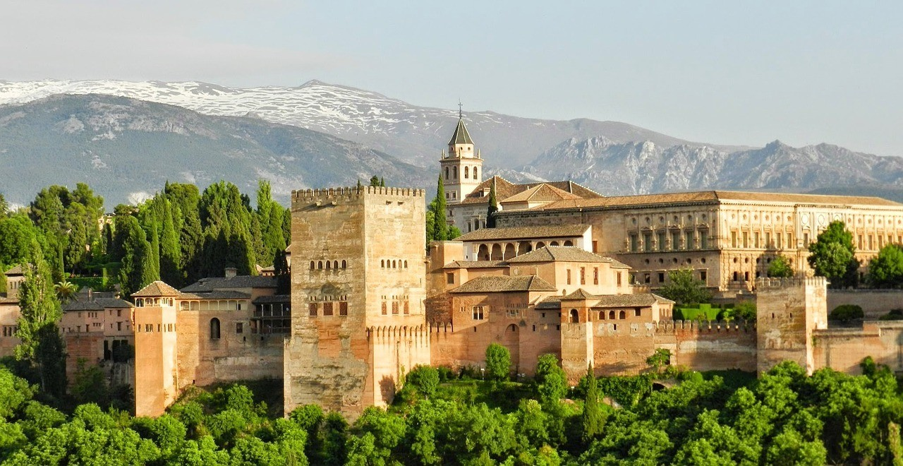 Architecture at Alhambra