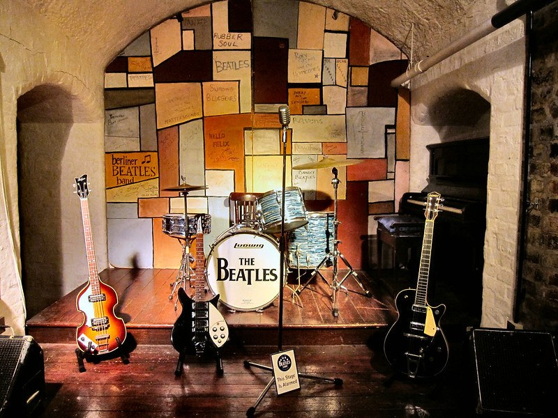 The Famous Cavern Club in Liverpool.