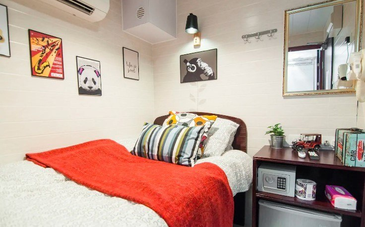 Tiny Apt at Basement Price, Hong Kong