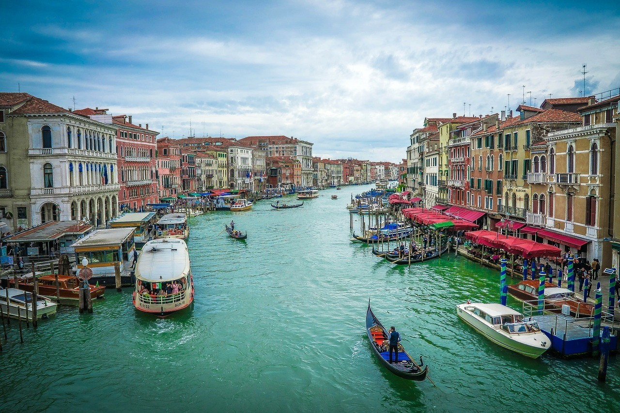 Grand Canal. Venice