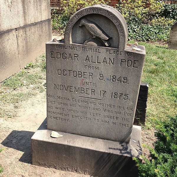 Pay your respects at Edgar Allen Poe's Grave